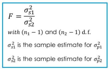 F-test statistic