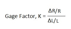 Gauge Factor Equation