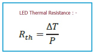 LED Thermal Resistance