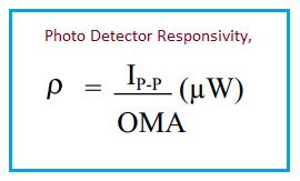 Optical Responsivity