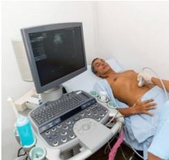 Ultrasound scanner machine