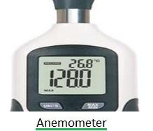 air flow meter-anemometer